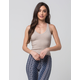 FULL TILT Essential V-Neck Womens Sweater Tank