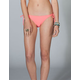 FULL TILT Solid Side Tie Bikini Bottoms