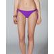 FULL TILT Solid Side Tie Bikini Bottoms