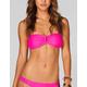 FULL TILT Solid U Bandeau Bikini Top
