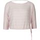 FULL TILT Side Tie Girls Crop Sweater