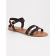 BAMBOO 2 Strap Ankle Womens Sandals