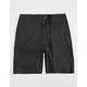 NITROUS BLACK Brown Boys Shorts