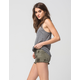 RSQ Cabo Cut Off Womens Ripped Denim Shorts