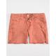 VANILLA STAR Premium Fray Girls Denim Shorts