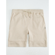 BROOKLYN CLOTH Elastic Waist Mens Jogger Shorts