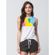 I.O.C. By Icons Pacific Sunset Womens Muscle Tee