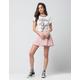 FULL TILT Satin Fit And Flare Skirt