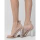 YOKI Clear Strap Womens Heels