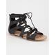 SODA Lace Up Girls Gladiator Sandals