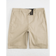 BLUE CROWN Stretch Classic Chino Mens Shorts