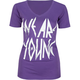 YOUNG & RECKLESS Metal Womens Tee