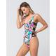 BIKINI LAB Reversible One Piece Swimsuit