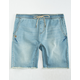 CRASH Denim Mens Jogger Shorts