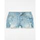 RSQ Cabo Cutoff Girls Ripped Denim Shorts