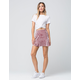 SOCIALITE Velvet Fit And Flare Skirt