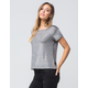 POLLY & ESTHER Shimmer Womens Tee