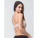 Lace Crossback Strapless Bandeau