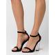 CAPE ROBBIN Velvet Womens Heels