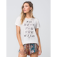 BILLABONG Honor Womens Tee
