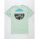 VANS Sun Sets Mens Pocket Tee