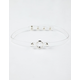 FULL TILT Clear Circle Choker