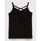BOZZOLO Cross Front Girls Tank
