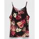 FULL TILT Floral Button Front Girls Tank