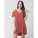 H.I.P. V-Neck Cold Shoulder Dress