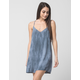 FULL TILT V-Neck Washed Slip Dress