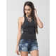 OTHERS FOLLOW Lace Up Womens Tank