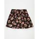 FULL TILT Woven Floral Girls Skirt