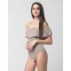 FULL TILT Off The Shoulder Flounce Womens Bodysuit