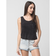 FULL TILT Mineral Wash Womens Pocket Tank