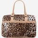 Large Leopard Duffle Bag