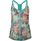 LOTTIE & HOLLY Floral Racerback Womens Sleeveless Top