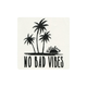 BILLABONG No Bad Vibes Sticker
