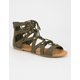 SODA Lace Up Womens Gladiator Sandals