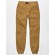BROOKLYN CLOTH Twill Boys Jogger Pants