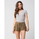 OTHERS FOLLOW Pull On Womens Cargo Shorts