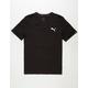 PUMA Iconic Mens V-Neck T-Shirt