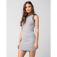 FULL TILT Stripe Ringer Bodycon Dress