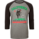 RIOT SOCIETY Back To Cali Mens Baseball Tee