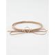 FULL TILT Ring Bow Wrap Necklace