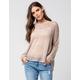 BLU PEPPER Open Knit Womens Sweater