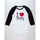 VON ZIPPER I Heart Beer Mens Baseball Tee