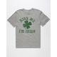 BLUE CROWN I'm Irish Mens T-Shirt