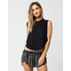 AMUSE SOCIETY Bondi Womens Muscle Tee