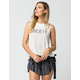 AMUSE SOCIETY Stencil Womens Muscle Tee