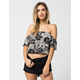 AMUSE SOCIETY Penny Lane Womens Top